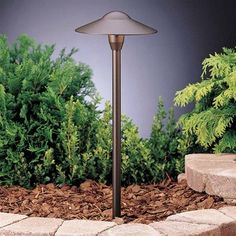 Kichler Lighting 15310AZT6 Dome Path Spread Set Pathway Light, Textured Architectural Bronze® (6 pack)