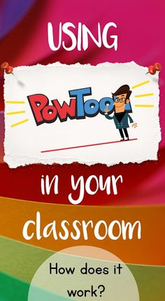 PowToon can be used in a variety of different ways with multiple age groups. Perfect for both teachers and school leaders. Example: A teacher can create a PowToon to develop an engaging lesson/presentation for students. Teaching Technology, Technology Tools, Technology Integration, Teaching Tools, Educational Technology, Teaching Resources, Business Technology, Digital Technology, Teaching Ideas