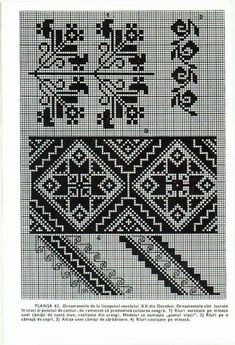 Blackwork Embroidery, Hungarian Embroidery, Palestinian Embroidery, Learn Embroidery, Machine Embroidery Patterns, Embroidery Applique, Cross Stitch Embroidery, Cross Stitch Tree, Cross Stitch Borders