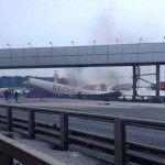 A passenger jet has crashed