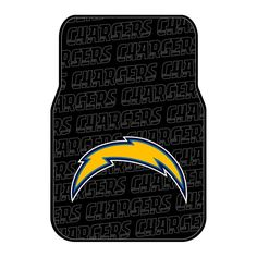 San Diego Chargers NFL Car Front Floor Mats (2 Front) (17x25)