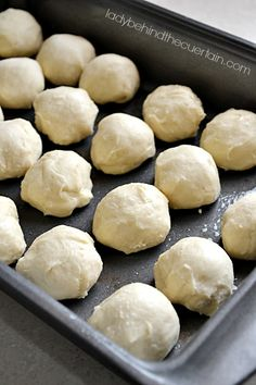 You can& get any easier than that! With a giant list of yummy dishes for our holiday meal these small rolls are perfect. Yeast Rolls, Bread Rolls, Bread Recipes, Cooking Recipes, Bread Winners, Homemade Rolls, Homemade Breads, Cooking Bread, Bread Baking
