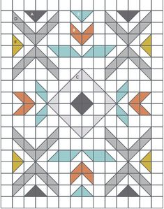 Half Square Triangle Quilts Pattern, Motifs Granny Square, Half Square Triangles, Barn Quilt Patterns, Modern Quilt Patterns, Aztec Patterns, Modern Quilting Designs, Modern Quilt Blocks, Motif Navajo