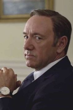 KEVIN SPACEY - Frank Underwood dans la série House of Cards