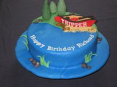 canoe birthday cake | Canoe | A Special Cake