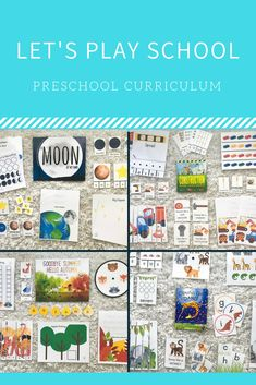 Let's Play School Preschool Curriculum - Homeschool Kindergarten, Preschool At Home, Child Love, Your Child, Pre K Age, Hello Autumn, Lets Play, Learning Activities, Classroom