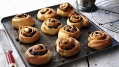 Chelsea buns: perfect with a cup of tea and a smear of butter