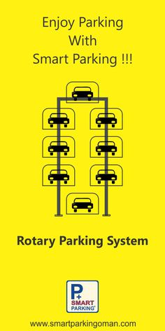 Smart Parking is a Packaged Rotary Parking System that can expand parking capacity up to 8 times.  #SmartParkingOman #RotaryParkingSystem  For more information contact us on: (968) - 96992175 24498521 - 24498531  95919121 - 91780950 Email: INFO@SMARTPARKINGOMAN.COM