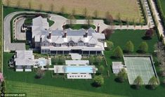 What to do when you're rich and famous? Rent a summer home in the Hamptons for 400,000 PER MONTH (via Dailymail.co.uk).