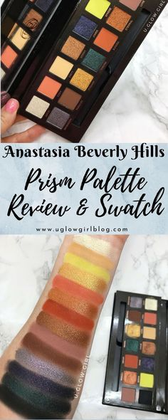 Have you tried the limited edition Anastasia Beverly Hills Prism  palette?  Do you keep seeing it at TJ Maxx for half off and wondering if  you should buy it?  Peep this review to see how it swatched and if it's  right for you!