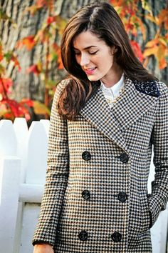 houndstooth coat | sarah vickers