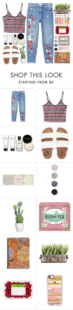 """Untitled #68"" by junotsalis ❤ liked on Polyvore featuring MANGO, Bobbi Brown Cosmetics, Billabong, Kate Spade, Terre Mère, Kusmi Tea, Patricia Nash and Casetify"