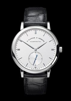 A. Lange & Sohne Grand Saxonia **this watch totally nullifies the issue I have with the 1815, but i'm not a fan of watches that don't have numerics, hence my panerai obsession**