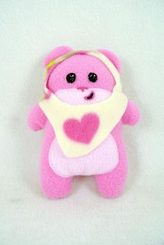 Little Pink SQUEEwok with heart hood