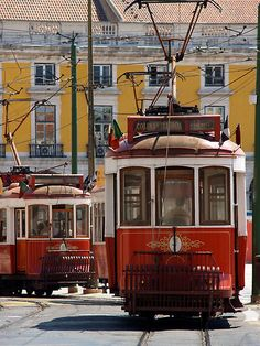 Lisbon trolleys