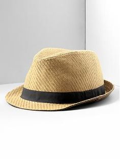 Straw fedora from Banana Republic's Mad Men spring collection. Everything about this screams my name. Tall Men Fashion, Mens Fashion, Straw Fedora, Sharp Dressed Man, Tall Guys, Silver Shoes, Summer Accessories, Men's Collection, Swagg
