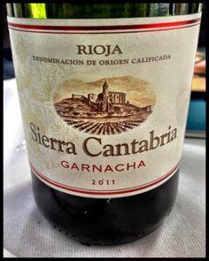 El Alma del Vino.: Sierra Cantabria Garnacha 2011.