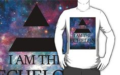I AM THE ECHELON GALAXY  The perfect design for the Echelon, the Thirty Seconds To Mars' fans.  Yes this is a CULT.  Provehito in altum.