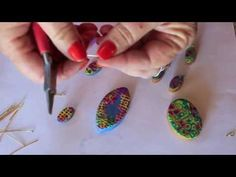Watch as syndee holt shows you how easy it is to use earring fish hooks and eye pins for pendants and earrings!