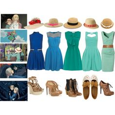 """Casual Cosplay - Sophie - Howl's Moving Castle"" by casual-cosplay on Polyvore"
