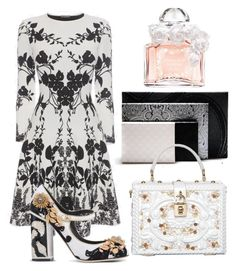 """Untitled #1228"" by capm ❤ liked on Polyvore featuring Alexander McQueen, Dolce&Gabbana and Guerlain"