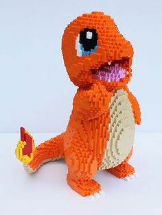 Lego Pokemon, Lego Design, Arts And Crafts For Kids Toddlers, Ninja Turtle Pumpkin, Lego Dragon, Lego Sculptures, Lego Animals, Amazing Lego Creations, Lego People