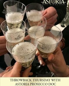 The only thing you should Throwback this Thursday is a glass of our new Astoria Prosecco! Now available at an LCBO near you!!  #astoria #astoriawines #astoriawinescanada #wine #winelovers #prosecco #lcbo #winetasting #ontariowine #winery #delicious #fruity #thursday #throwback #throwbackthursday #toronto #ottawa #kitchener #london #mississauga
