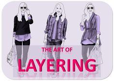 Erfahren Sie hier, wie Sie mit horizontalem und vertikalen Layering sowie Volumen ein Outfit im Lagen-Look zaubern, das Ihre Proportionen optimiert.