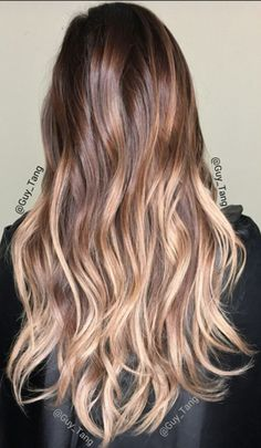 Blonde Balayage On Brown Hair Perfect Summer Color