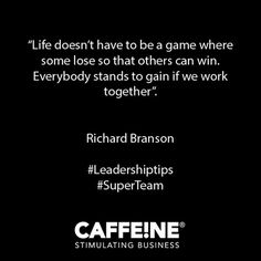 Hootsuite Richard Branson, Leadership Quotes, Cards Against Humanity, Business, Life, Store, Business Illustration, Leadership Quote