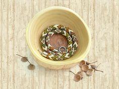 Bead Crochet Necklace Navajo by Chudibeads on Etsy