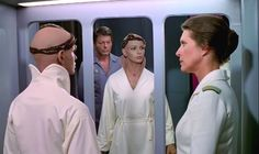 "Dr. Leonard 'Bones' McCoy, Lt. Ilia and Dr. Chapel  ""Star Trek: The Motion Picture"""