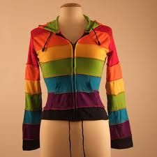 rainbow clothes - Google Search