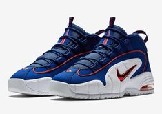 Nike Air Max Penny 1 Lil' Penny - Deep Royal Blue/Gym Red/White