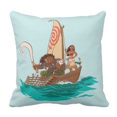 Moana | Set Your Personal Course Throw Pillow. >> Take a look at even more at the image link