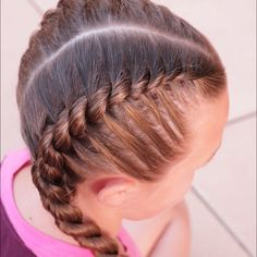 Rope Twist French Braid by Erin Balogh Braided Hairstyles Balogh BRAID Erin French Rope Twist Curly Hair Styles, Natural Hair Styles, Hair Braiding Styles, Hair Twist Styles, Braided Hairstyles Tutorials, Rope Braid Tutorials, French Braid Tutorials, French Plait Tutorial, Braided Hairstyles For Kids