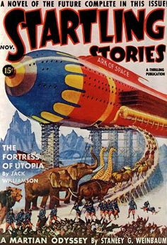 Startling Stories: Fortress of Utopia