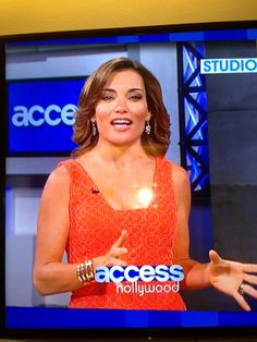 Kit Hoover wears Rustic Cuff! #KitHoover #AccessHollywood