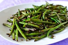 Asian-Style Stir Fried Green Beans - try this one.  With some low carb modifications this was amazing!  Fresh beans or frozen, this one is a keeper.  The sauce would actually work on any kind of veggies, especially grilled peppers.