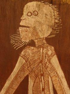 Lofty Nadjamerrek | X Ray Bark painting | sell Lofty Nadjamerrek