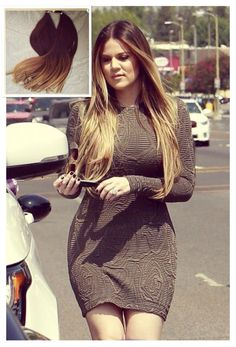This listing is for Khloe Kardashian Celebrity Inspired Brazilian Ombre Brown #3/27 Blonde Tape in 40PCS/200g Total Straight Invisible Skin Weft Hair Extensions. All Hair Extensions in my shop can be customized to any hair extensions method including: Clip In's Tape In's Pre-Bonded Fusion Micro-Bead Weaving Wefts 100% human hair The color will last forever Life time more than 18 months Tangle free Shedding free The hair is very soft Healthy Bouncy Shine Holds the curl after wash Healthy end…