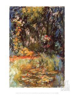 ACQUA GIGLI Claude Monet dipinto Tote Shopping Bag for Life