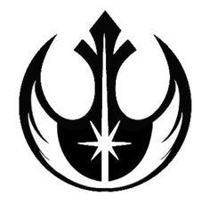 Jedi Order symbol on top of Rebel symbol.