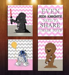 This listing is for a digital file. Set of four 810 frame-able wall art - Baby Star Wars - Ideas of Baby Star Wars - This listing is for a digital file. Set of four 810 frame-able wall art Girls Star Wars Party, Star Wars Baby, Star Wars Nursery, Star Wars Room, Decoracion Star Wars, Star Wars Shoes, Star Wars Wall Art, Baby Wall Art, Nursery Themes