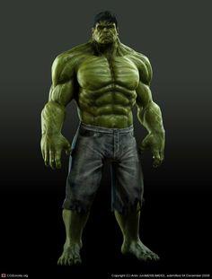The Incredible Hulk by montyband.deviantart.com on @deviantART