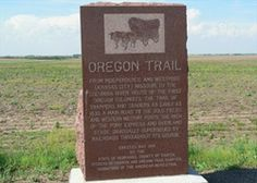 Oregon and Pony Express Trails, Alexandria Nebraska, Heritage Highway 136