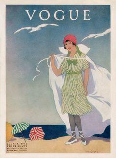 Vogue - 1912, July. Helen Dryden