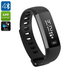 Fitness Tracker Bracelet - Pedometer, Heart Rate Monitor, Sleeping Monitor, Calorie Counter, Touch Screen (Black) - This fitness tracker is the ultimate sports watch that with its pedometer and heart rate monitor provides you with great workout support. Smart Fitness Tracker, Fitness Tracker Bracelet, Best Online Clothing Stores, Bluetooth Watch, Fitness Watch, Fitness Band, Smart Bracelet, Smart Watch, Bracelets