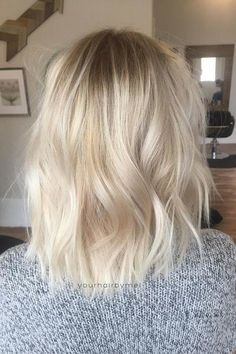 Fresh Hair Colors for Spring: Baby Blonde