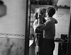 """Available for sale from Magnum Photos, Elliott Erwitt, """"Couple dancing"""" (Valencia, Spain) Signed silver gelatin print (photographer's signature on … Dancing In The Kitchen, Robert Frank, Foto Art, Romantic Dinners, Romantic Recipes, Lets Dance, Swing Dancing, Belle Photo, Black And White Photography"""